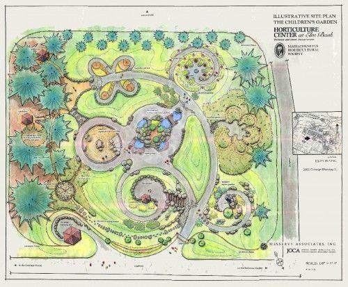 Landscape Garden Plan josaelcom