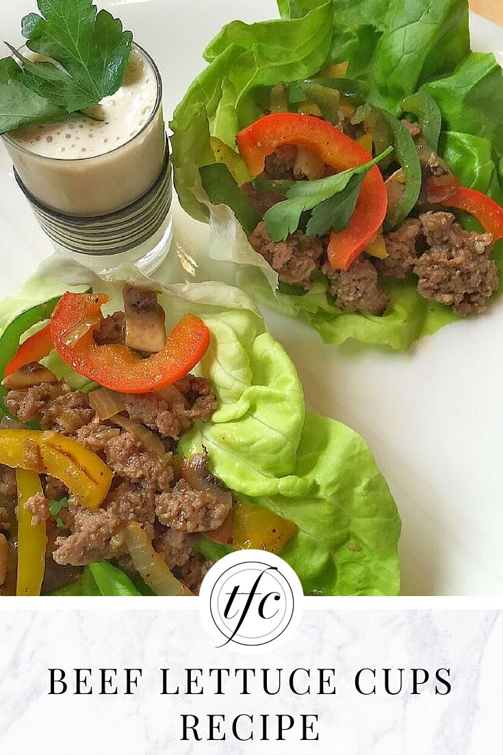 Beef Lettuce Cups Recipe | Healthy Lunch or Dinner Idea |