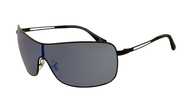 ray ban 3466 sunglasses  ray ban rb3466 sunglasses shiny black frame blue polarized lens