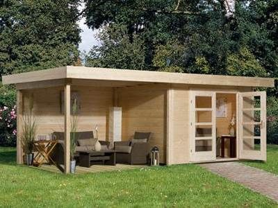 Beautiful abri de jardin pavillon contemporary for Abri jardin 12m2