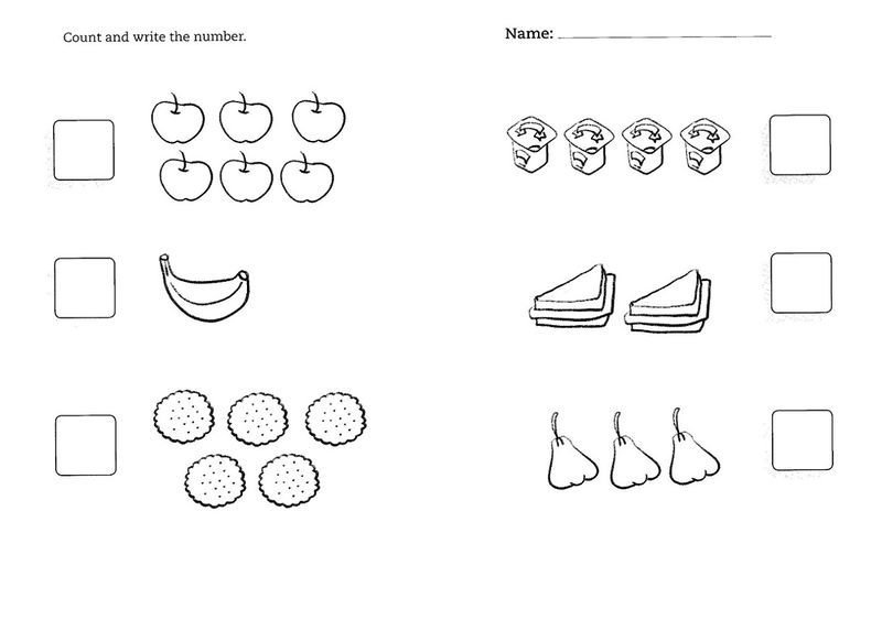 Worksheets For 5 Year Olds Printable | Activities for 5 ...