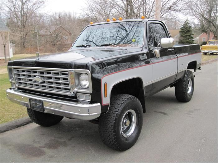 1975 Chevy Pickup Maintenance Of Old Vehicles The Material For