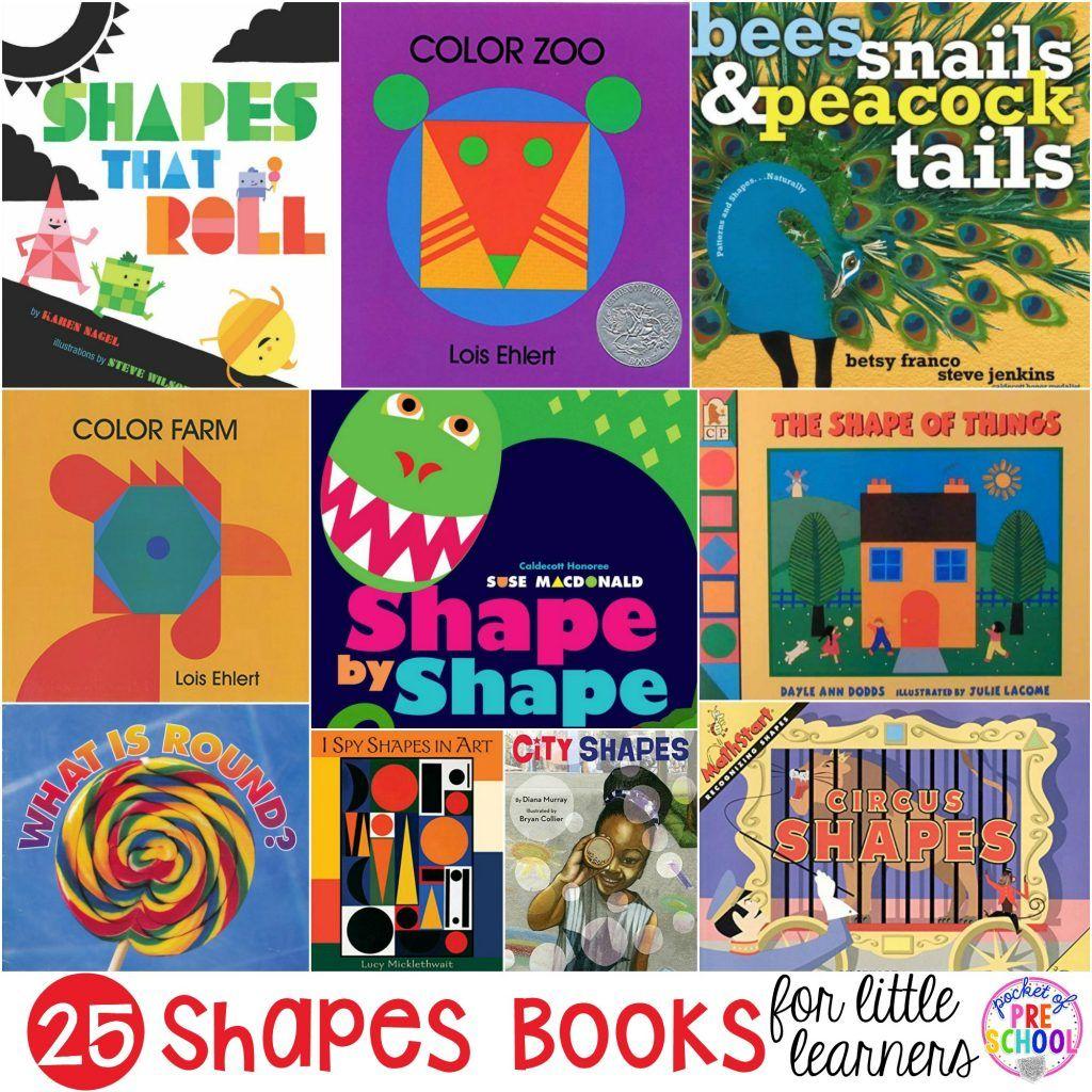 2d Shape Activities For Preschool Pre K And Kindergarten