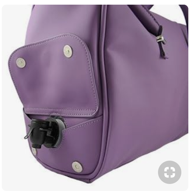 Purse And Wine Dispenser In One