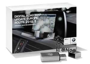 BMW Navigation Update USB Road Map Europe ROUTE 2018-1 – GPS