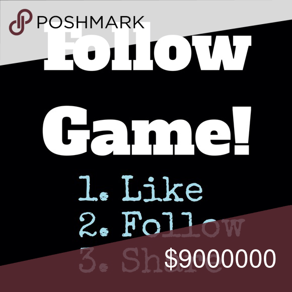 Follow Game! LIKE this listing! Then FOLLOW me and everyone who has liked it. Then SHARE and tag other friends. Thanks everyone! Free People Tops