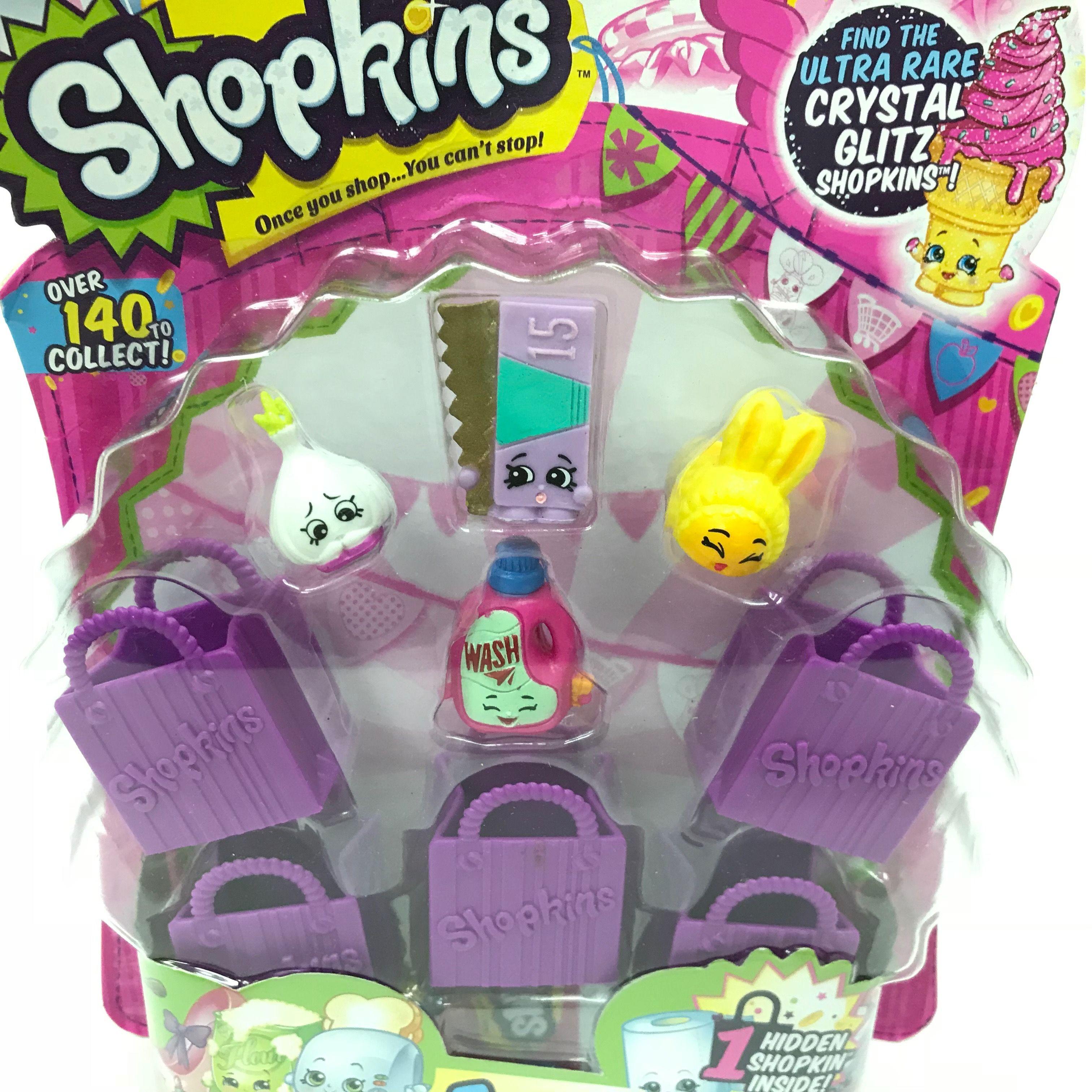 Shopkins-Season-2-Collectibles-Pack-of-5-Bags-Characters-Set thumbnail 12