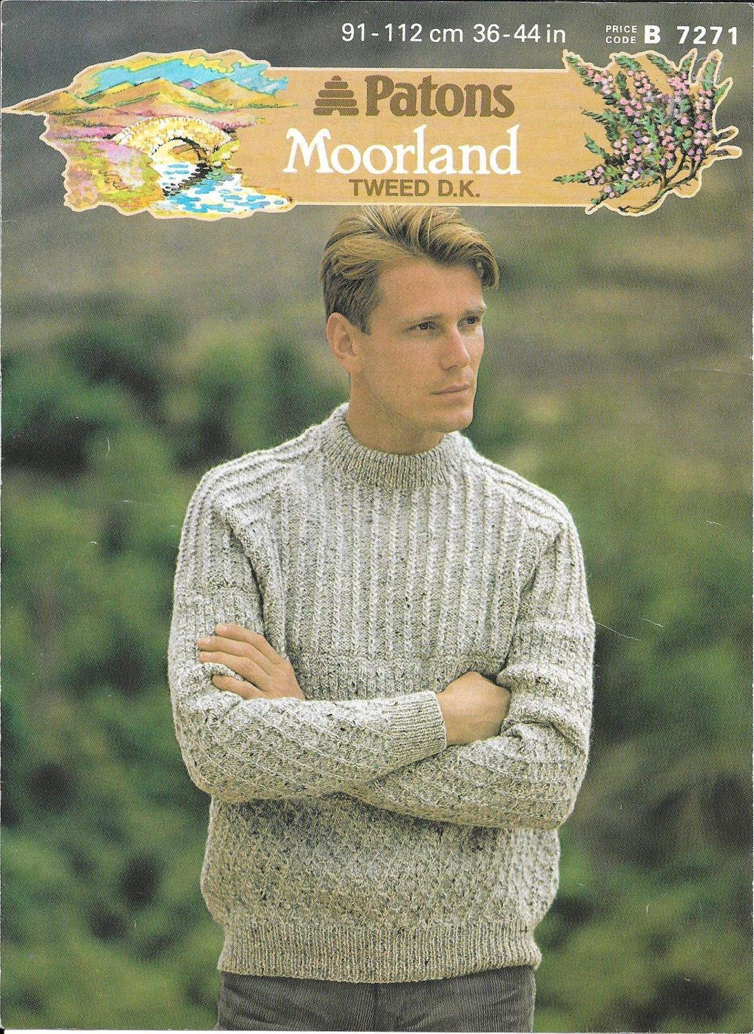 Knitting pattern for a mens tweed dk sweater by bettysgiftbazzar knitting pattern for a mens tweed dk sweater by bettysgiftbazzar on etsy bankloansurffo Choice Image