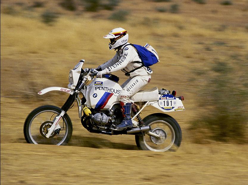 Gaston Rahier - Paris Dakar 1984  7ae946a55e