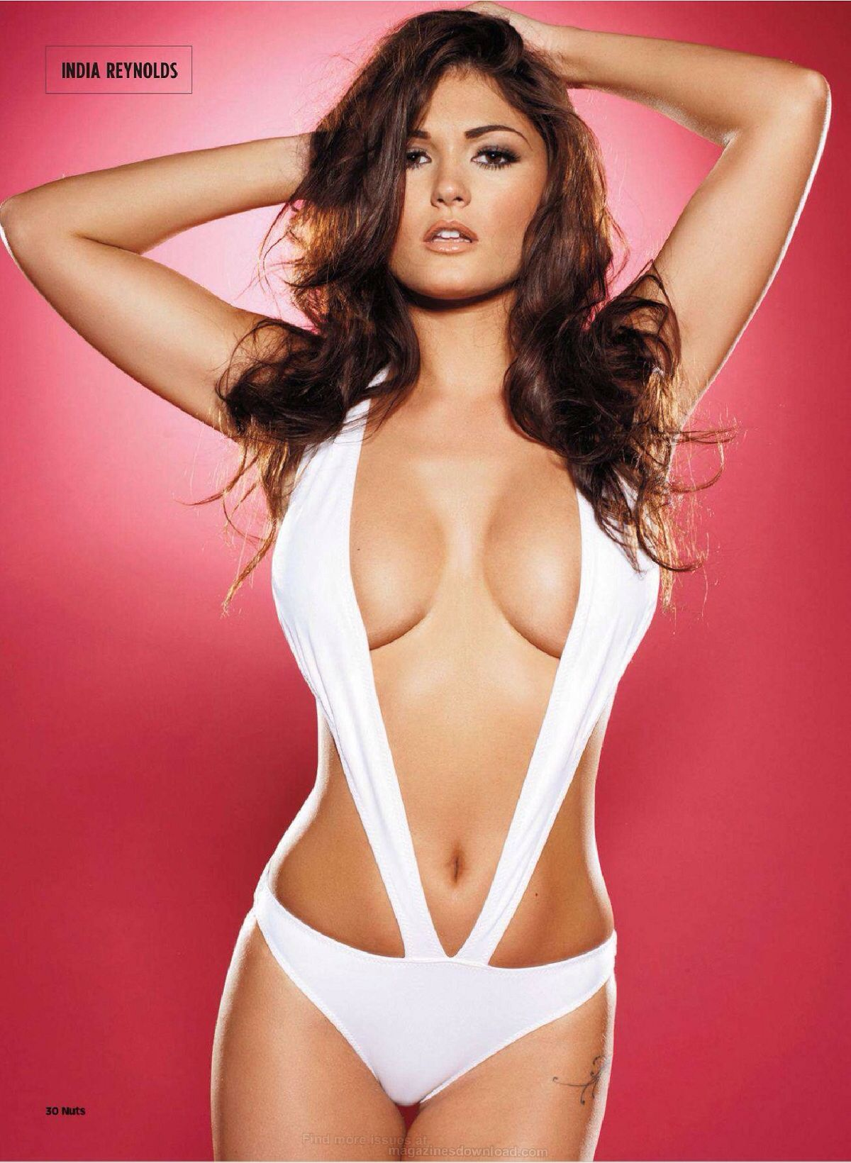 Well! India reynolds nuts models also