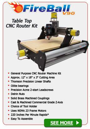 FireBall V90 CNC Router Kit | Print This | Cnc router, Cnc, Hobby cnc