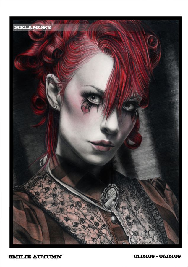 Emilie Autumn Fan Art , Not Entirely Steampunk but Oh So Victorian <3