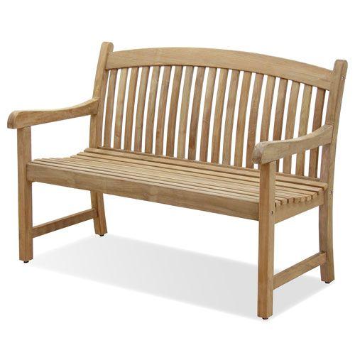 Peachy International Home Miami Newcastle Teak Four Inch Bench Sc Cjindustries Chair Design For Home Cjindustriesco
