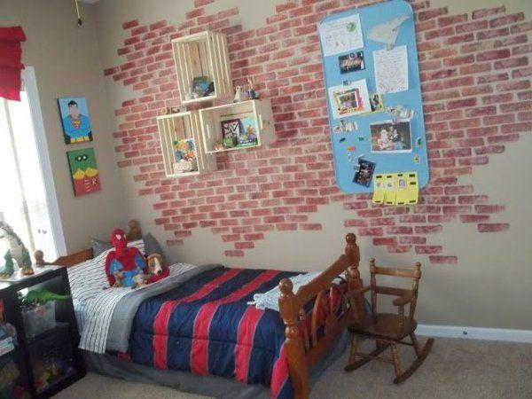 Wanddeko selber machen gef lschte backsteinwand als rustikale dekoration renovieren - Backsteinwand imitat ...