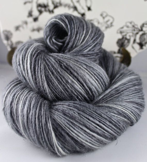 Handspun Yarn Gently Thick and Thin DK Single by SheepingBeauty