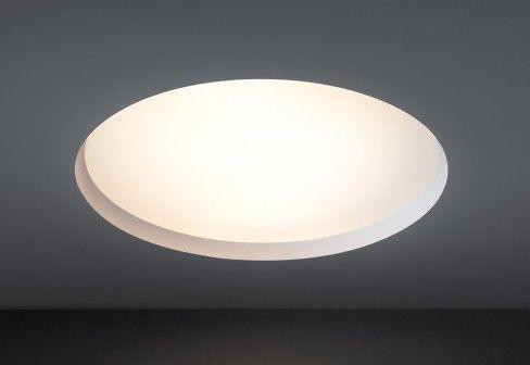 Modular Flat Moon Ceiling Built In Lamp Lampen