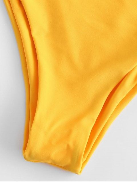 fcf91efa249 Women's High Waist Side Straps Bikini Bottom Scrunch Butt Ruched Brief(FBA)  - Black - C712NZSRSXD in 2019   Fashion Women Clothing Online   Strap bikini,  ...