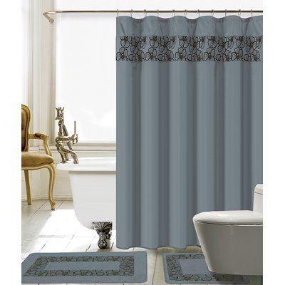 Red Barrel Studio Wellow Shower Curtain Set 2020 Shower