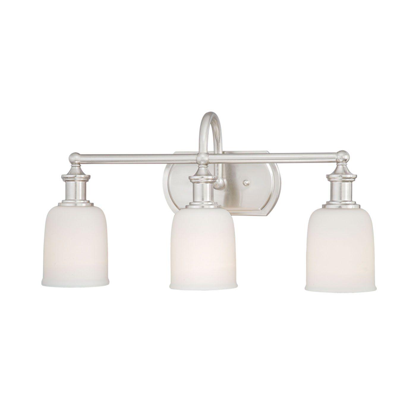 Vaxcel W0013 Elliot 3 Light Vanity Fixture | Bathroom | Pinterest ...