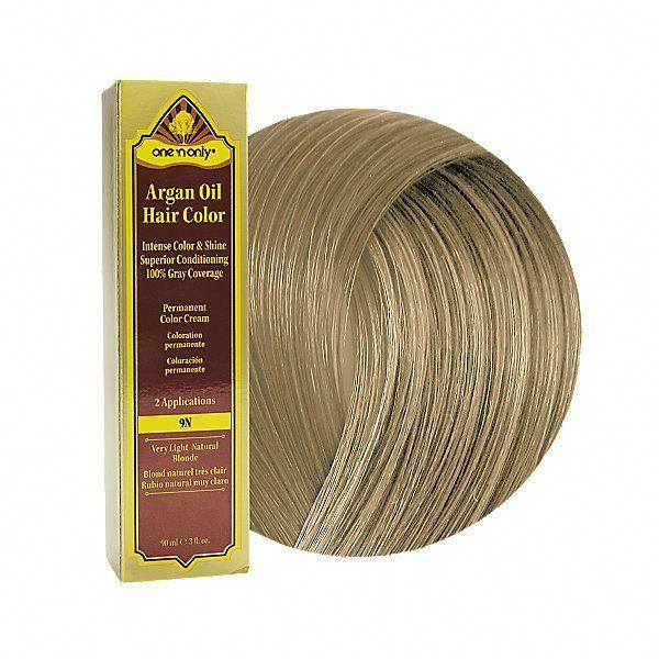 One 'n Only Argan Oil Hair Color: 9N Very Light Natural ...