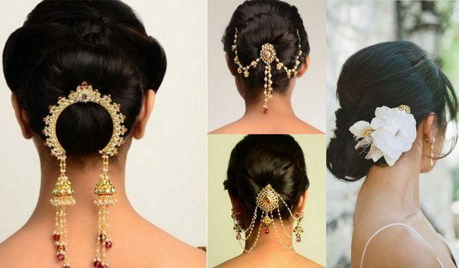 Bridal Hairstyles For Short Hair Hair Pinterest Indian Bridal