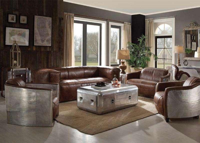Best Acme Furniture Brancaster 3 Piece Living Room Set 400 x 300