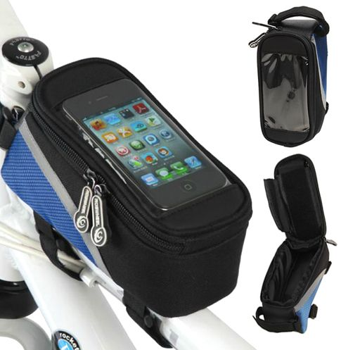 DealTicker: Toronto daily deals. $14 for a Bike Pouch with a Clear Phone Case Cover - Taxes Included ($39 Value) - DealTicker.com