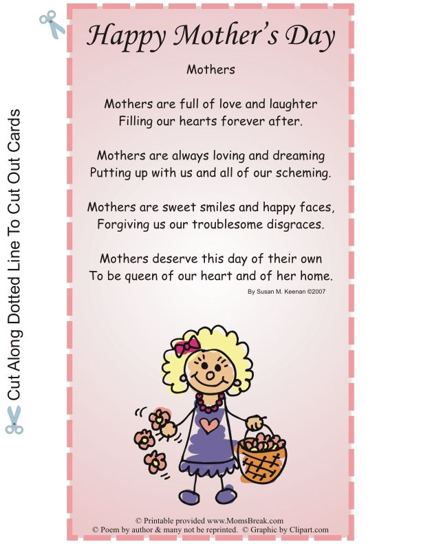 mothers day poem ideas  Google Search  for jane  Pinterest