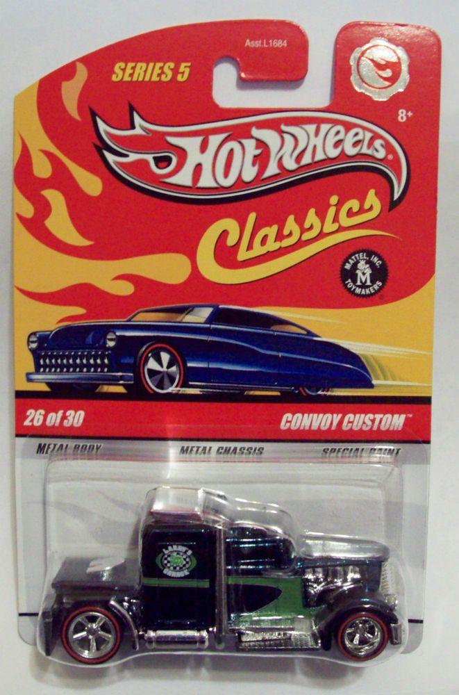 Hot Wheels Convoy Custom From Walmart 30 Car Classics Series 5 Set