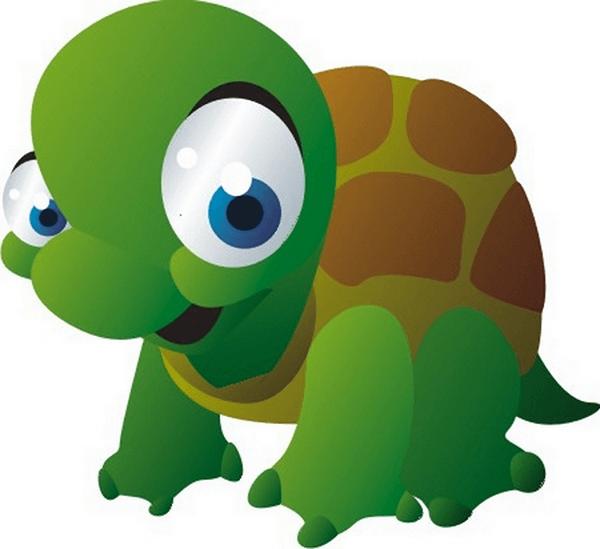 Adesivi per Bambini: Tartaruga
