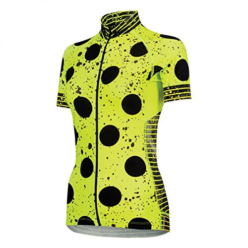 Shebeest Womens Divine Short Sleeve Cycle Jersey Spray Dots Spry Small --  Be sure to check out this awesome product.Note It is affiliate link to  Amazon. ceca851f2