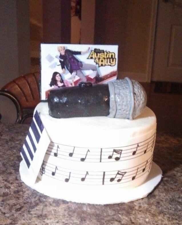 Austin and Ally birthday cake Happy birthday Cakes by Kiesha