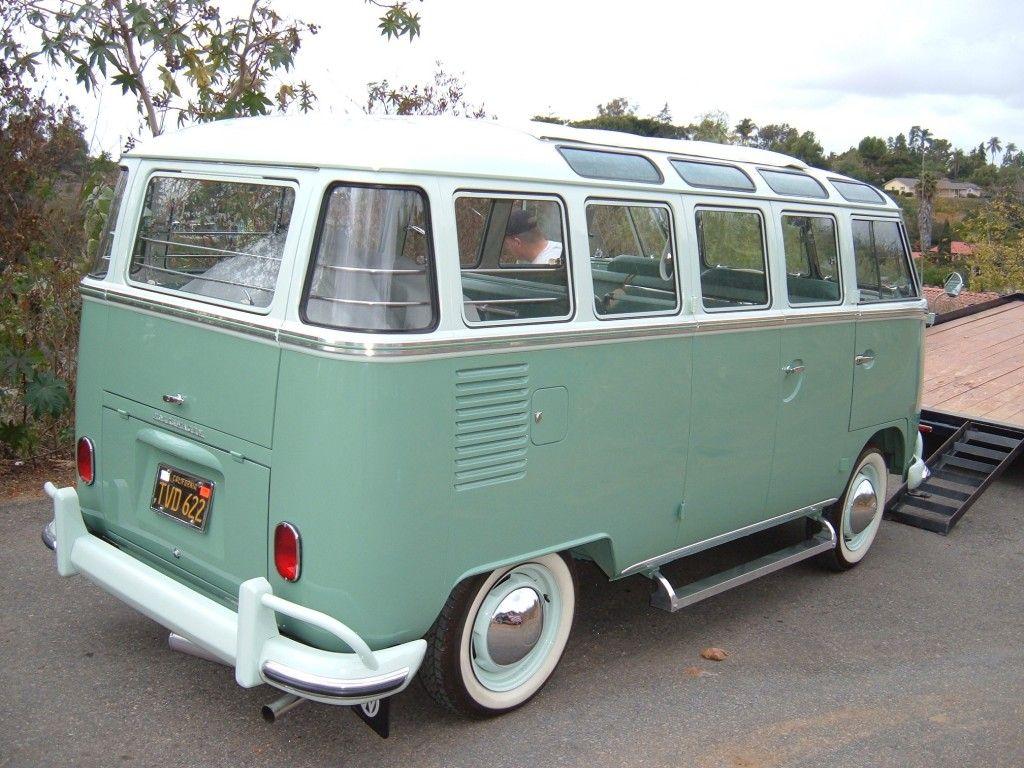 1963 23 Window Vw Bus Vintage Vw Bus Vw Bus Volkswagen