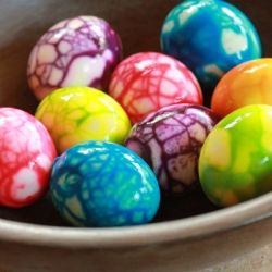 Neon food coloring and a crackling technique gives hard boiled eggs neon food coloring and a crackling technique gives hard boiled eggs a fun makeover forumfinder Image collections