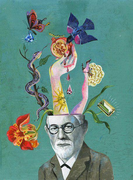 Olaf Hajek Artisticmoods Com Art Illustration Brain Art