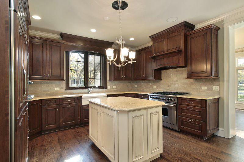 Ia Kitchen Solvers Of Marion Cedar Rapids Marion Traditional Kitchen Cabinets Walnut Kitchen Cabinets Brown Kitchen Cabinets