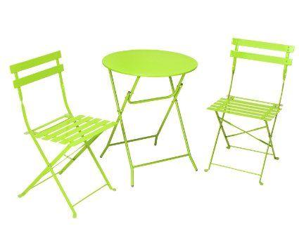Amazon Com Cosco 3 Piece Folding Bistro Style Patio Table 400 x 300