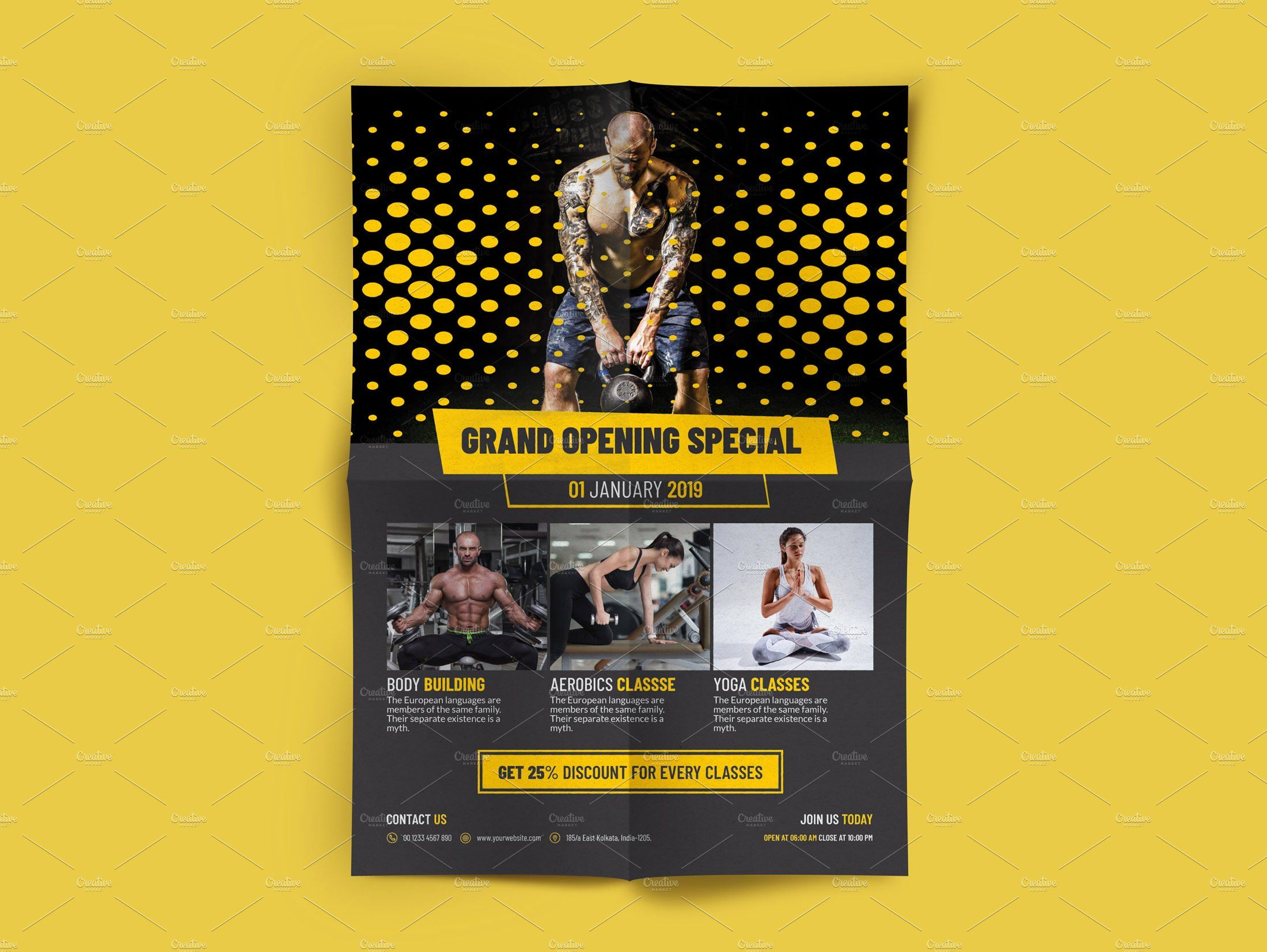 Free Download Program Grand Opening Flyer Template