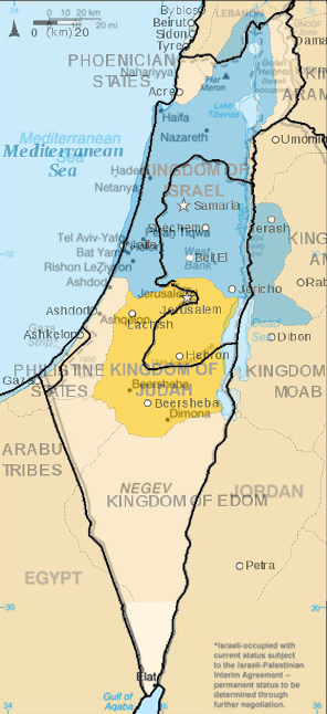 Israel And Palestine World Map.Map Of Israel Palestinian Territories Overlaid Onto Map Of Ancient