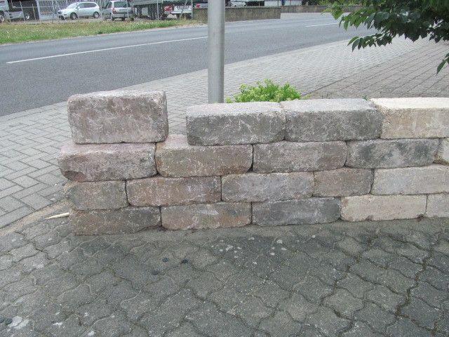Trockenmauerstein für den Garten oder Blumenbeete 42x21x14
