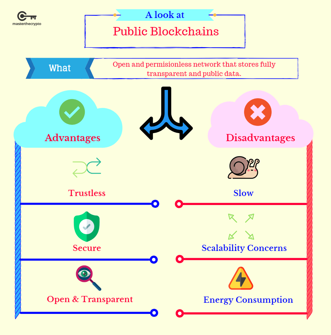 bitcoin is a public blockchain