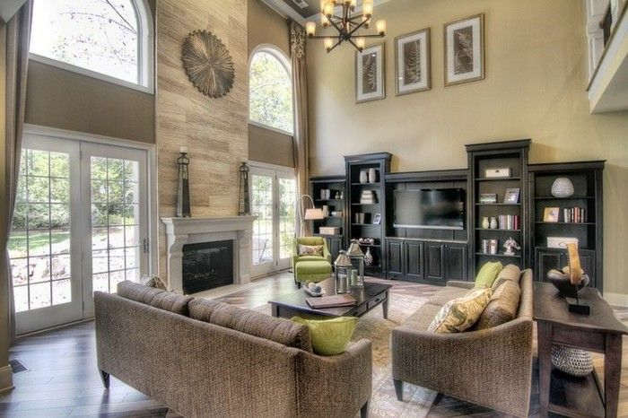30 Wohnungsgestaltung Beispiele, wie Sie schön einrichten - wohnzimmer ideen kamin