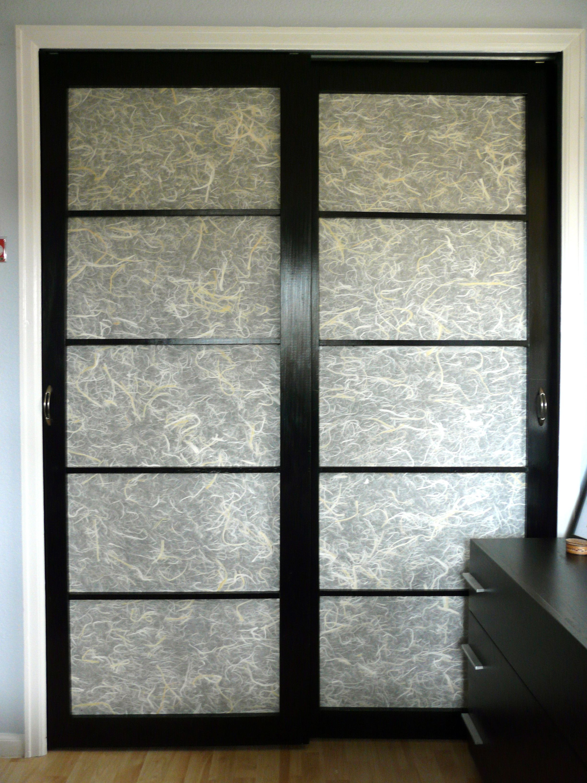 Simple And Affordable Diy Shoji Closet Doors Made With Pine Wood