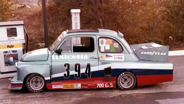 Slightly Tuned Fiat Abarth 695 Automobile Auto