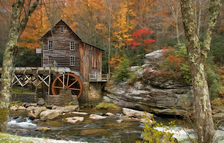 i love old mills