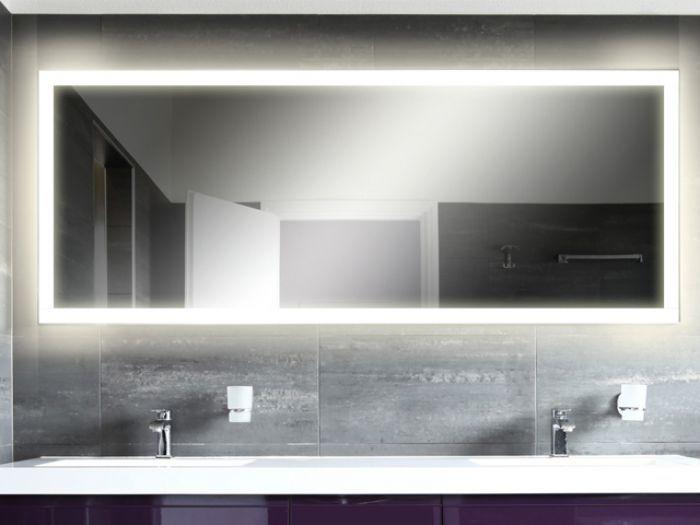 Aqua Bagno LED Bad Spiegel für Badmöbel badezimmer Pinterest - spiegel badezimmer mit beleuchtung