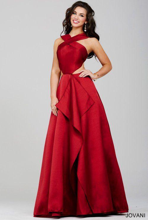 e7cfd1819b6 stunning red prom dress 2016 Jovani -32639 | Stunning Red Dresses ...