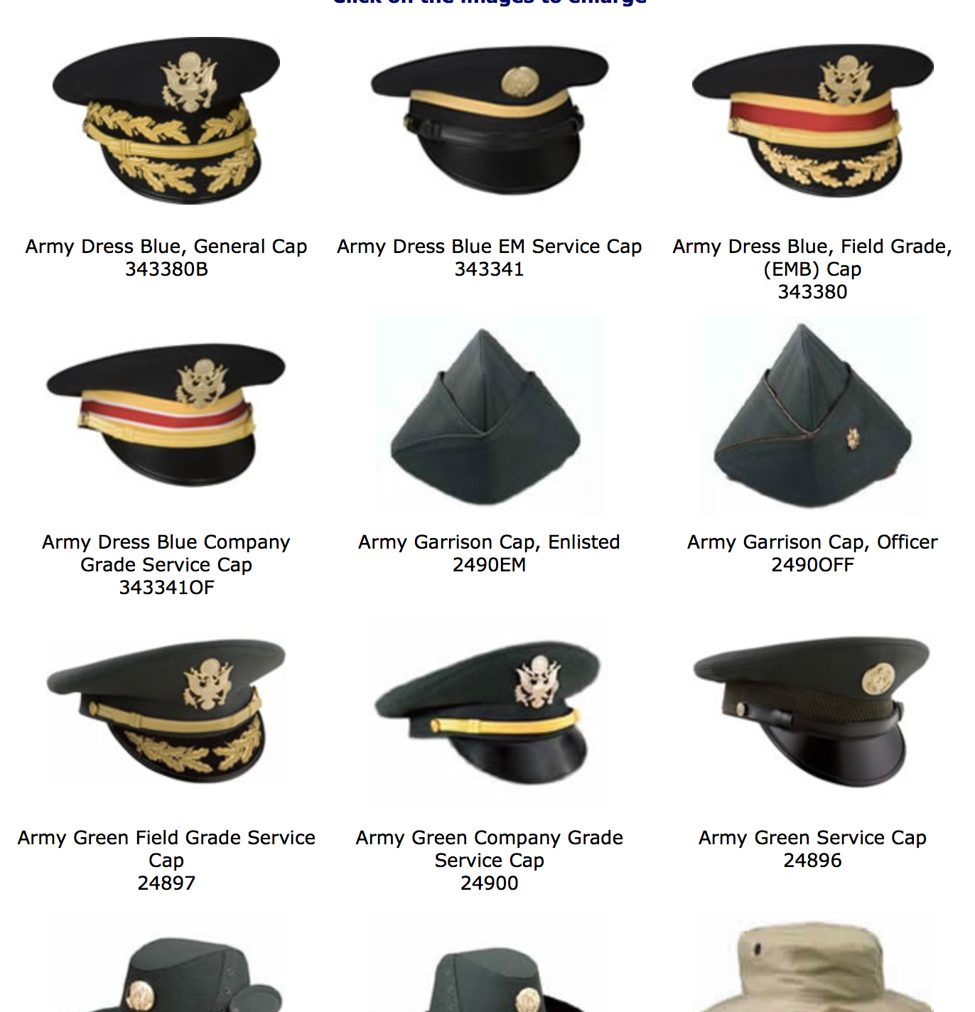 Types Of Military Hats Military Hat Military Cap Headwear