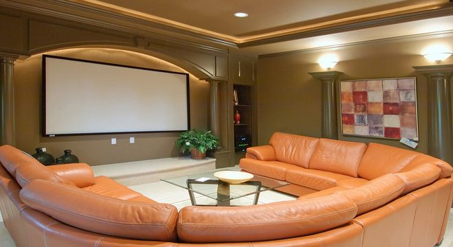 Basement Home Theater Ideas, DIY, Small Spaces, Budget, Medium,  Inspiration, Tables, Cinema, Kids, Wiring, Pictures, Cost, Design, Setup,  Dimensions And ...