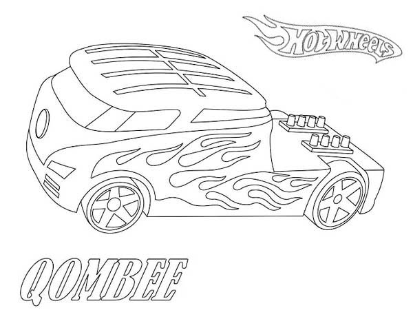 Pin On Hot Wheels Coloring Page
